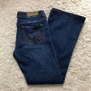 Seven7 Mid Rise Bootcut Jeans